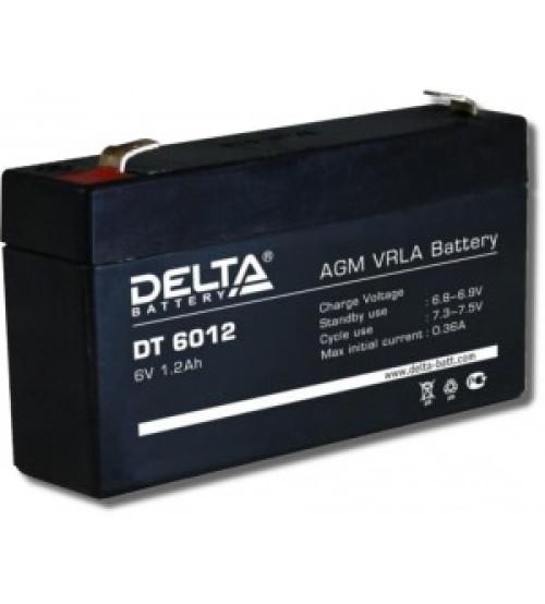 Delta DT 6012 Аккумулятор герметичный свинцово-кислотный