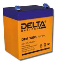 Delta DTM 1205 Аккумулятор герметичный свинцово-кислотный
