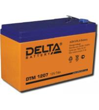 Delta DTM 1207 Аккумулятор герметичный свинцово-кислотный
