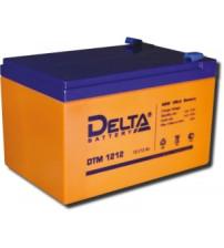 Delta DTM 1212 Аккумулятор герметичный свинцово-кислотный