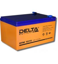 Delta DTM 1215 Аккумулятор герметичный свинцово-кислотный