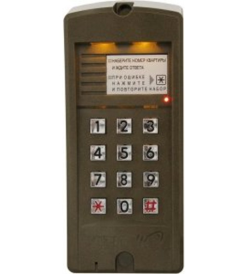 БВД-310R Вызывная панель аудиодомофона