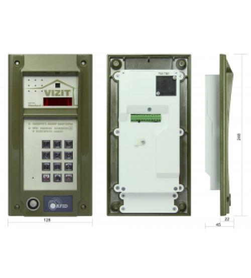 БВД-М202RTCP Вызывная панель видеодомофона