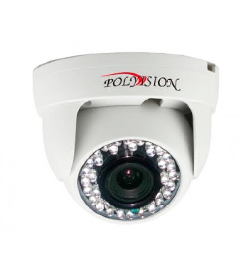 Polyvision PD1-A1-B2.8 v.2.1.2 Видеокамера мультиформатная купольная