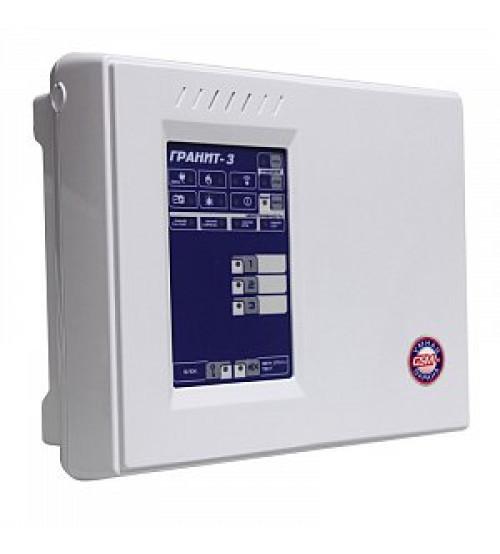 Гранит-3А GSM Прибор приемно-контрольный охранно-пожарный со встроенным коммуникатором GSM