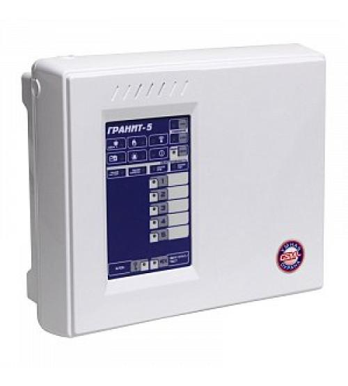 Гранит-5А GSM Прибор приемно-контрольный охранно-пожарный со встроенным коммуникатором GSM
