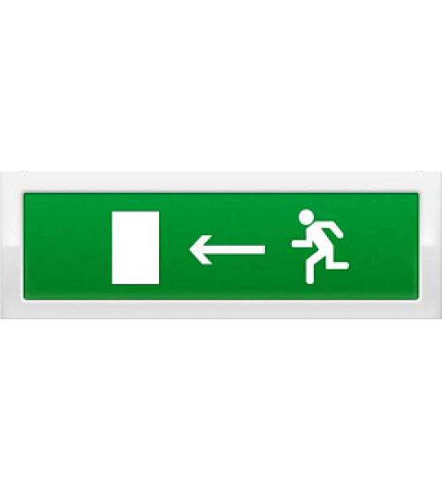 """Молния-12 """"Человек влево в дверь"""" Оповещатель охранно-пожарный световой (табло)"""