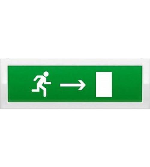 """Молния-12 """"Человек вправо в дверь"""" Оповещатель охранно-пожарный световой (табло)"""