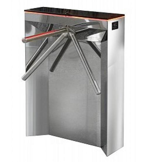 SA-401-Курс100-ЕМ (нержавеющая сталь + декоративный камень) Электромеханический турникет (трипод)