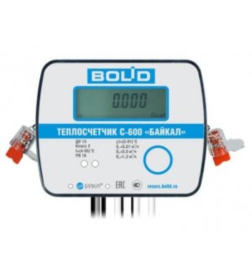 С600-Байкал(BOLID)-15-0,6-RS Теплосчетчик
