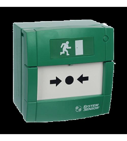УДП3A-G000SF-S214-01 (зеленый) Элемент дистанционного управления электроконтактный