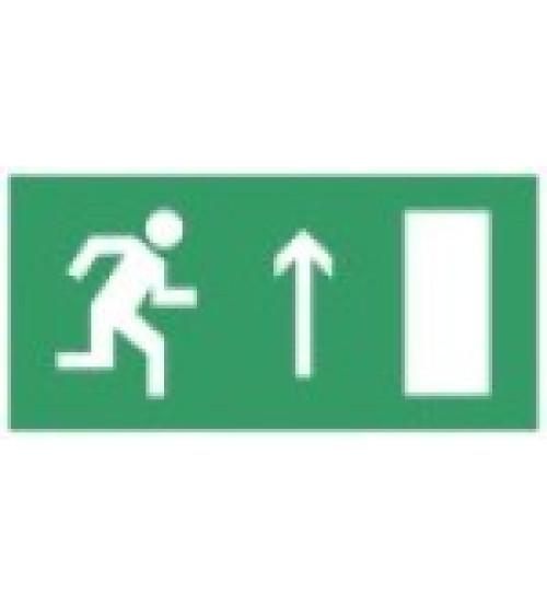 """Сфера (220В)  """"Направление к эвакуационному выходу прямо"""" (плоское) Оповещатель охранно-пожарный световой (табло)"""